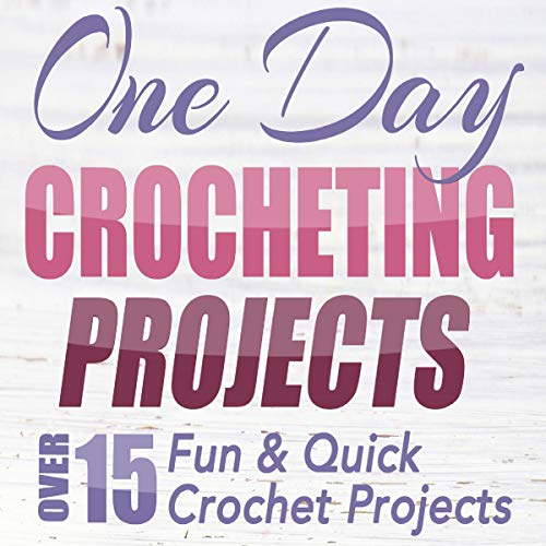 One Day Crocheting Projects: Over 15 Fun & Quick Crochet Projects Titelbild