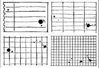 格子透明クリアシリコンスタンプ/DIYスクラップブッキング/ poアルバム用シール装飾クリアスタンプF805