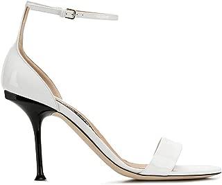 SERGIO ROSSI Luxury Fashion Womens A83331MVIV019000 White Sandals | Season Permanent