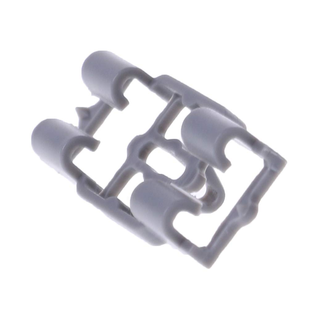 JENOR 10Pcs Lower Door Weatherstrip Plastic Seal Retainer Clip Front Rear compatible for BMW X5 E53