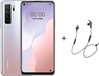 "Huawei Nova 7 SE Smartphone,Dual SIM,128GB ROM,8GB RAM,6.5"" Display-Space Silver + AM61 LITE BT Headphones"