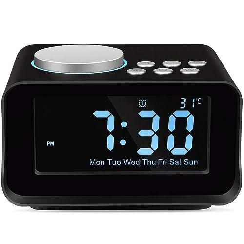 Desktop Digital Clocks: Amazon com
