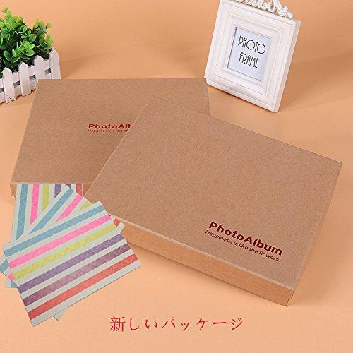 (ドーミ)Duome木製アルバムシール付き多様柄22*16㎝