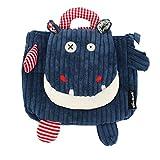 Les Déglingos  - Hippipos l'Hippopotame - Sac à dos pour enfants maternelle -...