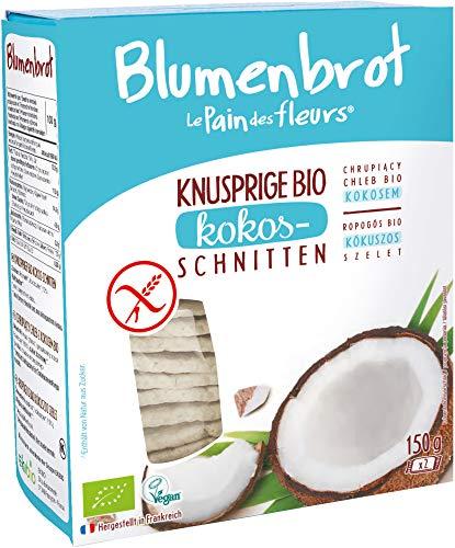 Blumenbrot Bio Knusprige Bio Kokos-Schnitten (6 x 150 gr)