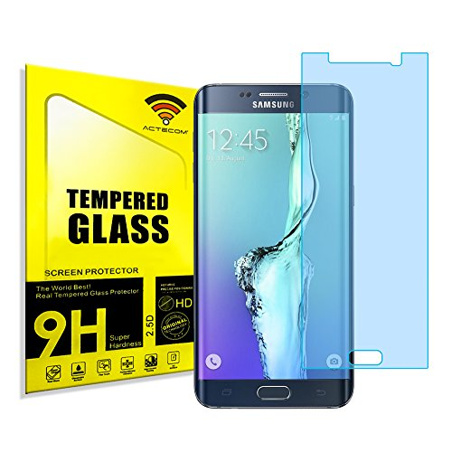 actecom® Protector Pantalla Compatible con Samsung Galaxy S6 Edge Plus Plano SIN...