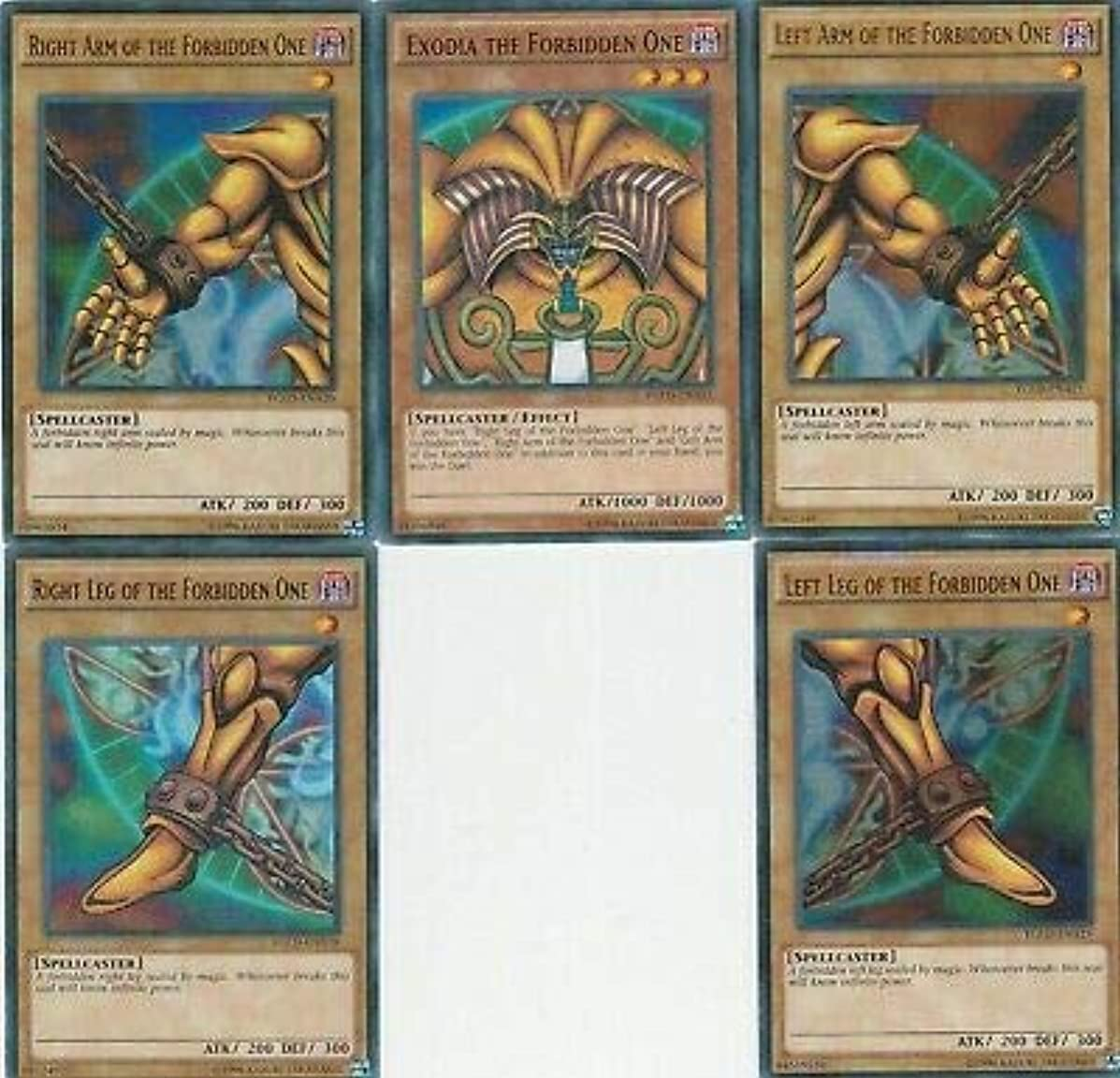 Yu-Gi-Oh EXODIA 45 Card Lot! Rare Cards! Exodia Cards Guaranteed!