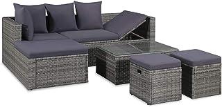 Amazon.es: sillones mimbre - Conjuntos de muebles de jardín ...