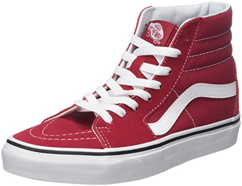 Vans Sk8-Hi Crimson Tint/True White (9.5 Women / 8 Men M US)