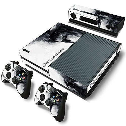 Elton Winter Is Coming Theme 3M Skin Sticker Cover for Xbox One Console, Kinect & Controllers [video game]