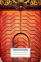 Composition Notebook: Urban Landscapes Majestic Architecture Wide Ruled Note Book, Diary, Planner, Journal for Writing