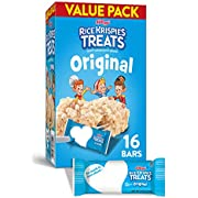 Kellogg's, Rice Krispies Treats, Original Marshmallow Bars, Value Pack, 16 Ct