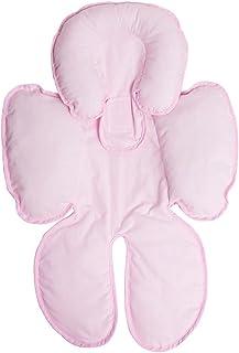 Capa para Bebê conforto e carrinho bordados, Papi textil, Rosa