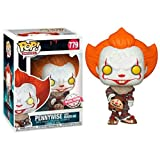 Funko Pop Movie : Stephen King'S It 2 - Pennywise and Hat 3.75inch Vinyl Gift for Horror Movie Fans ...