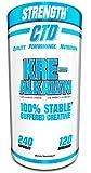 Pure Kre-Alkalyn Creatine Pills 240 Capsules, Premium Creatine Supplement for Men and Women.