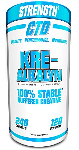 Pure Kre-Alkalyn Creatine Pills 240 Capsules, Premium Creatine Supplement for Men and Women.