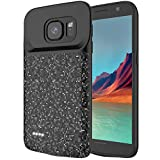 RUNSY Battery Case Compatible with Samsung Galaxy S7, 4700mAh Rechargeable Extended Battery Charging Case, External Battery Charger Case, Backup Power Bank Case (5.1 inch)