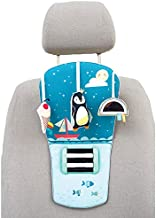 Taf Toys North Pole Feet Fun Infant Car Toy Travel Activity Center for Rear Facing Baby | Parent and Baby's Travel Companion, Keeps Both Relaxed While Driving