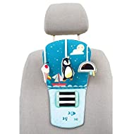 ENTERTAINMENT FOR TRAVELLING BABIES – This toy is specially designed to entertain babies whilst traveling by car. Travelling by car can be hard for your baby, and supplying them with soft, playful activities can make it interesting, joyful and easier...