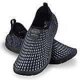 Ultrapower Zapatos de baño | Señoras | Hombres | Suela perfilada | Neopreno | Resistente a los Rayos UV | Cordones | Gris | Tamaño 46