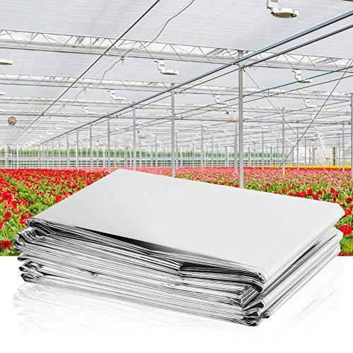 Reflektierende Folie, reflektierende Tönungsfolie, 210 * 120 cm für Garden Grow Room Greenhouse Plant