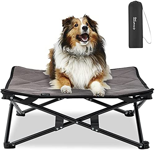 KINGCAMP Stable Folding Cooling Elevated Dog...