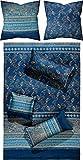 Bassetti Bettwäsche Matera B1 blau 135x200 cm