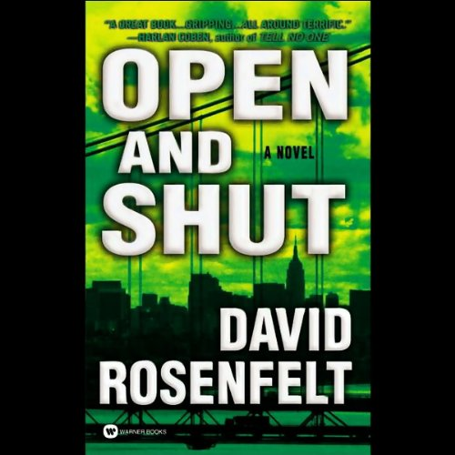 Open and Shut audiobook cover art