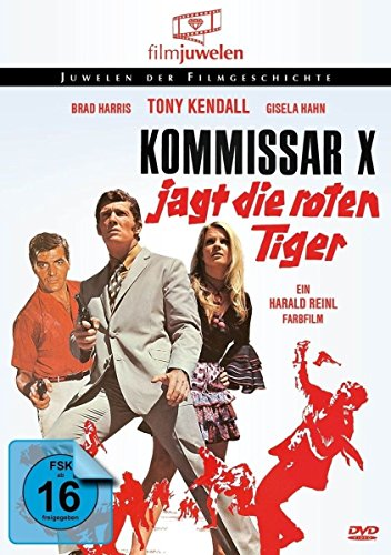 Kommissar X jagt die roten Tiger (Filmjuwelen) [DVD]