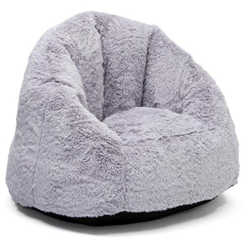 Delta Children Snug Foam Filled Chair, Grey, Tween