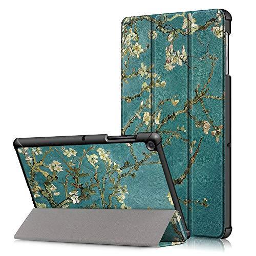 Funda para Samsung Galaxy Tab A 10,1 2019, FANSONG Carcasa de Dibujo de Cuero PU con Función de Auto Sueño/Estela y Soporte para Tableta Modelo SM-T510/T515 (Patrón 3)