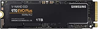 Samsung MZ-V7S1T0BW 970 Evo Plus 1TB, 64L 3 Bit MLC, Black
