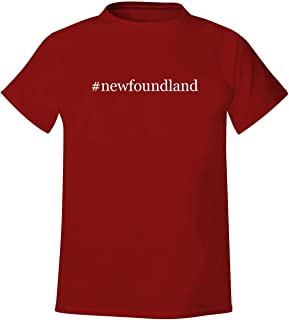 #newfoundland - Men's Hashtag Soft & Comfortable T-Shirt