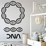 fancj Dna Pattern Vinile Wall Sticker Home Decor Soggiorno Camera da Letto Decor Removibile Wall Decal
