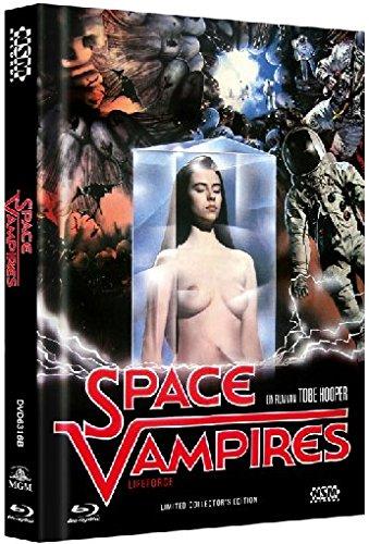 Space Vampires (Lifeforce - Die tödliche Bedrohung) - Mediabook (+ DVD) [Blu-ray] [Limited Collector's Edition]