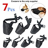 Best Dog Muzzles - Dog Muzzles Suit, 7 PCS Anti-biting Barking Muzzles Review