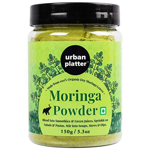 Urban Platter Moringa Leaf Powder, 150g / 5.29oz [Immunity Boost, Nourishing and Detoxifying]