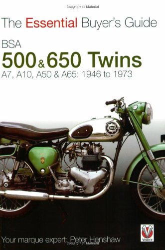 Compare Textbook Prices for BSA 500 & 650 Twins: The Essential Buyer's Guide  ISBN 9781845841362 by Henshaw, Peter