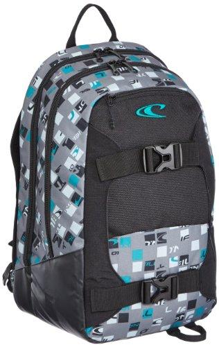 O'Neill Rucksack AC Boarder Backpack, grey aop w, 49 x 33 x 18 cm, 29 liters, 324014