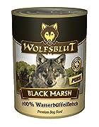 Wolfsblut Dose Black Marsh Pure 6 x395g Nassfutter für Hunde mit Wasserbüffelfleisch Bestes Futter