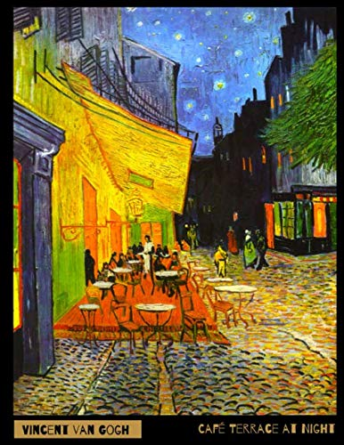 Vincent van Gogh: Plain Unlined Notebook - Café Terrace at Night (1888)