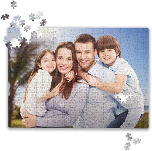 Yinin Puzzle Mit Eigenem Foto,FotogeschenkePuzzle 120 Bis 1000 Teile Fotopuzzle Mit Eigenem Bild Hochzeit Dekor Unvergesslich Weihnachten Geschenk Original Poster Familienrätsel