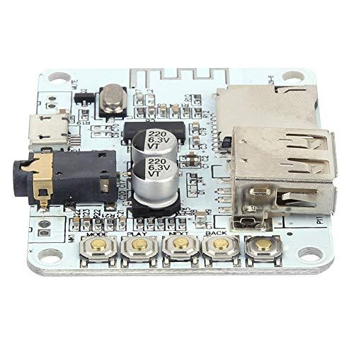 Placa de amplificador de receptor de audio Bluetooth Placa de receptor de audio Placa de receptor de Bluetooth con tarjeta USB TF MP3 WMA WAV FLAC APE