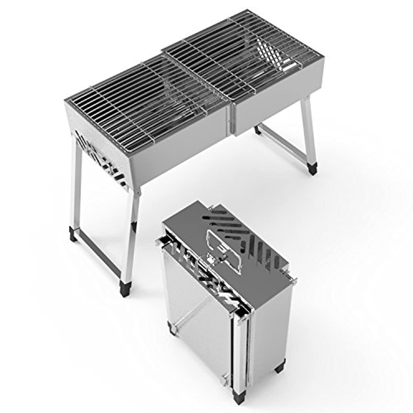 OOOQDUA Portable barbecue furnace for charcoal barbecue