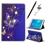 Coque pour Samsung Galaxy Tab A SM-T550 T551 T555 9.7', Etui en Cuir Flip Housse de Protection Mince...