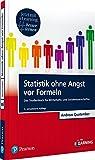 """Statistik ohne Angst vor Formeln inkl. MyLab. Mit eLearning-Zugang """"MyLab"""