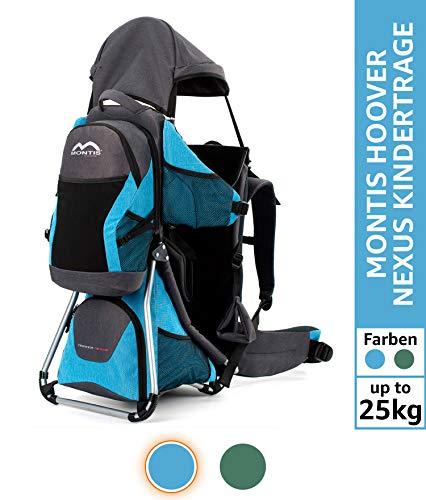 Photo de montis-hoover-nexus-porte-bebe-de-premiere-classe-jusqua-25kg-bleu