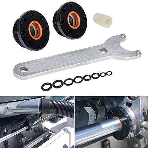 Front Mount Hydraulic Steering Cylinder Seal Kit with Pin Wrench Fit for HC5340, HC5341, HC5342, HC5343, HC5344, HC5345, HC5346, HC5347, HC5348 etc.