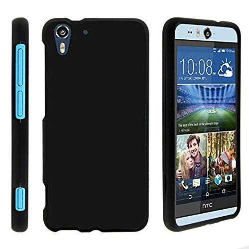 WESTERN COLLECTIONS Soft TPU Ultra Slim Flexible Back Case Cover Designed for:- HTC Desire Eye (Black)