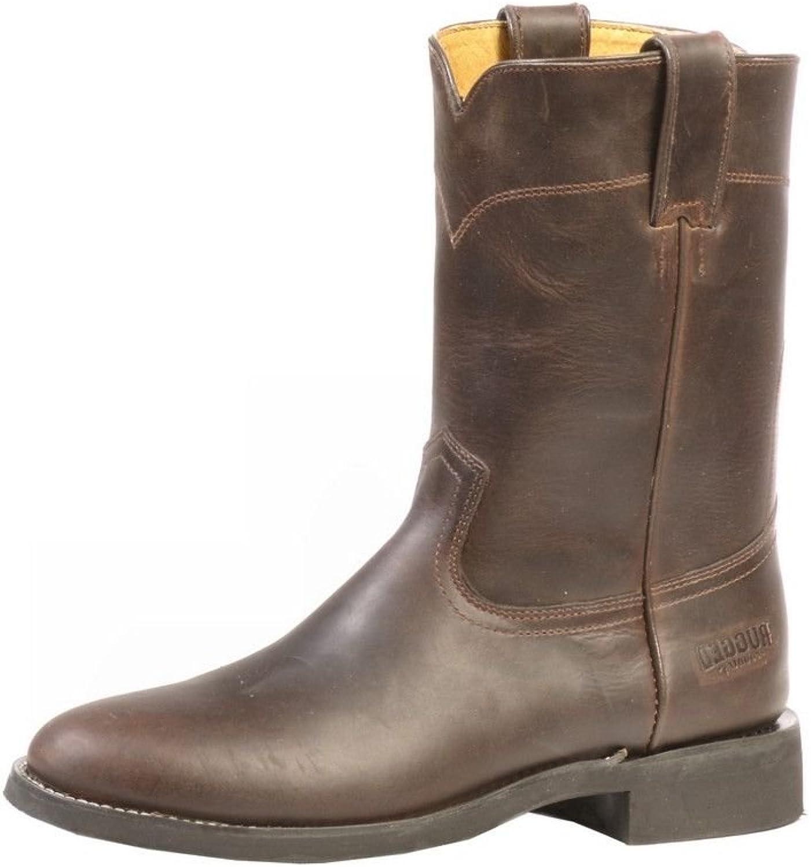 Amerikanische Stiefel - Robust Country BO-2506-EE (Fett Fu) - Mann - Leder - braun